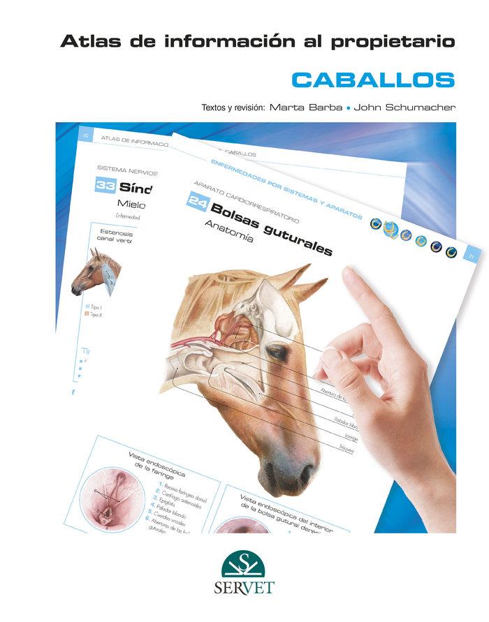 Atlas de informacion al propietario. caballos