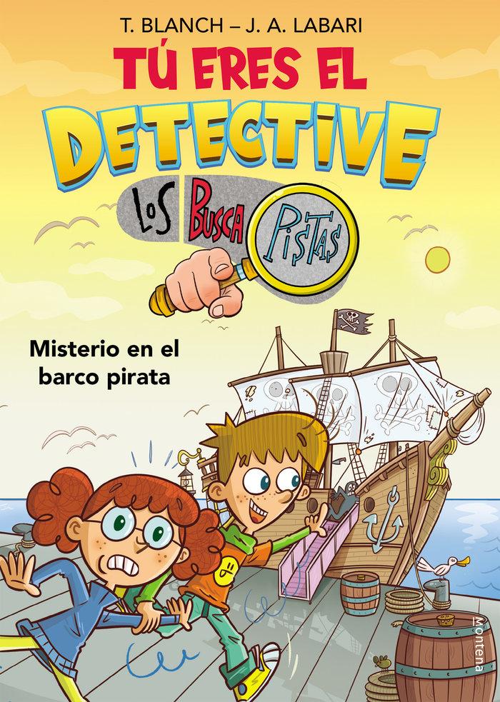 Tu eres el detective con los buscapistas 2. misterio en el b