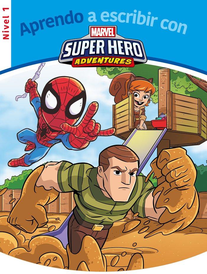 Aprendo a escribir con los superheroes - nivel 1 (aprendo a