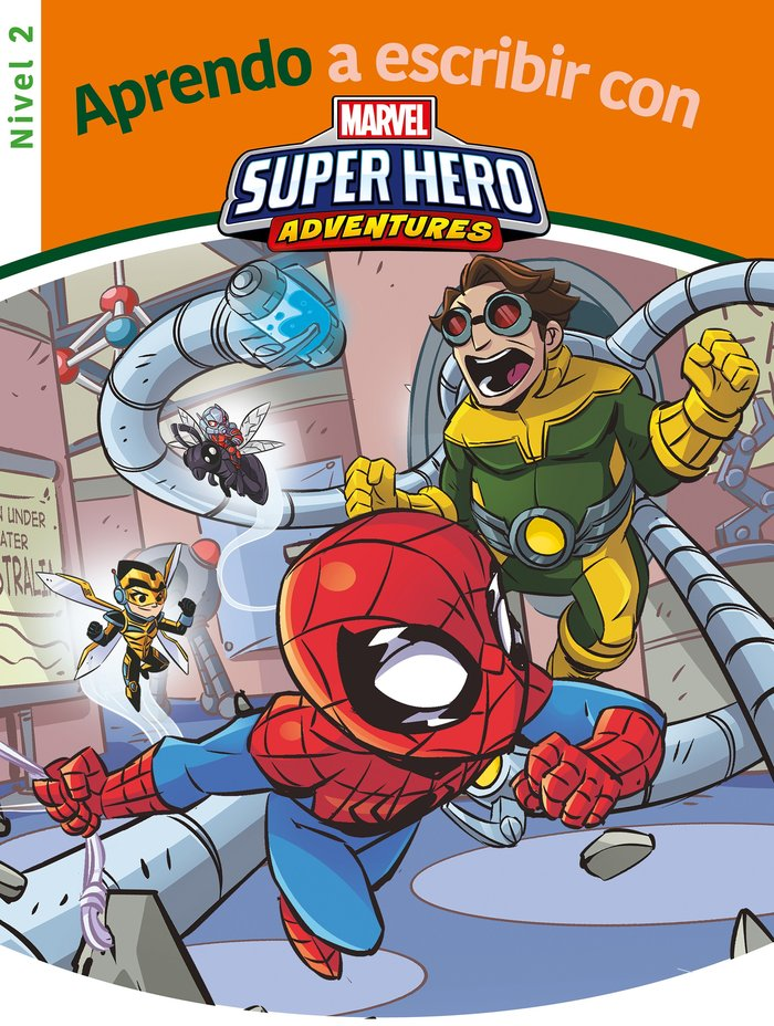 Aprendo a escribir con los superheroes - nivel 2 (aprendo a
