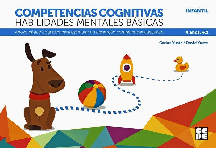 Competencia cognitiva habilidad mental basica 4.1 4 años