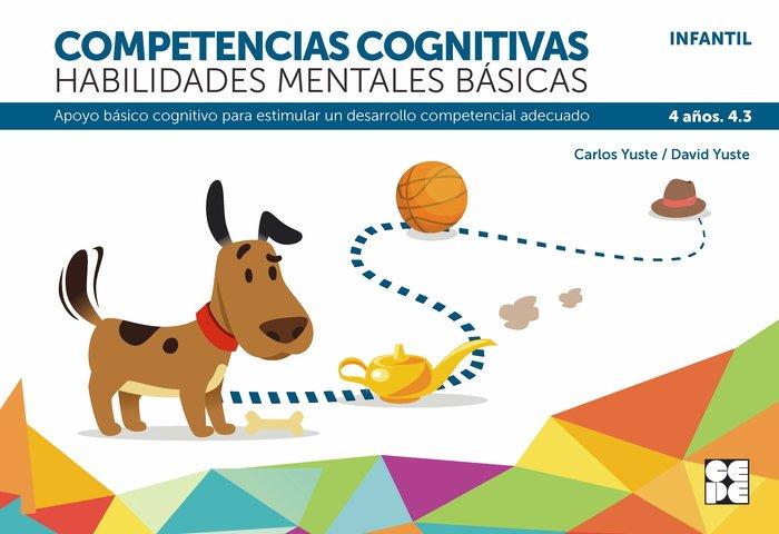 Competencia cognitiva habilidad mental basica 4.3 4 años