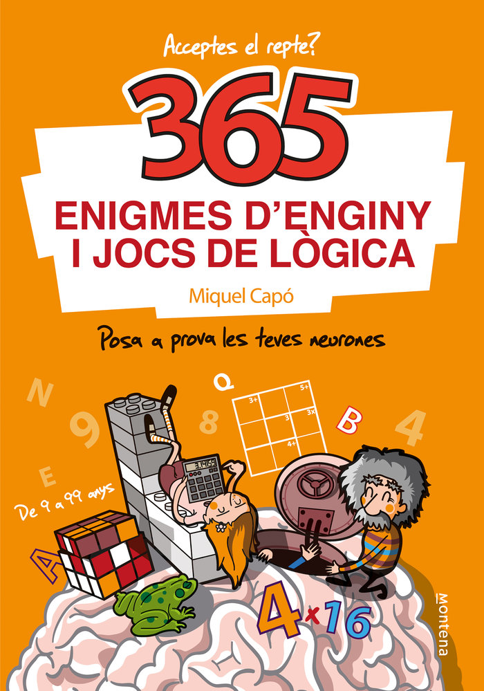 365 enigmes denginy i jocs de logica catal