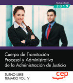 Cuerpo tramitacion procesal y administrativa vol 4