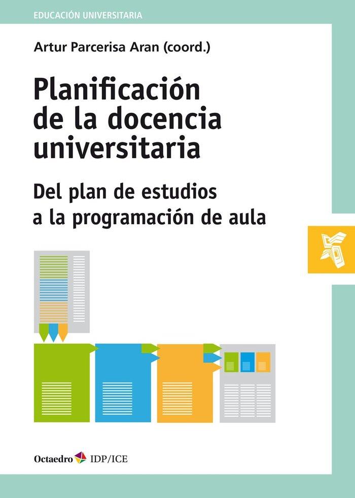 Planificacion de la docencia universitaria