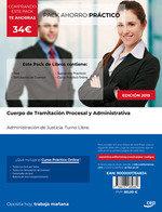 Pack ahorro practico cuerpo tramitacion procesal y administ