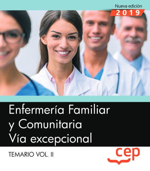 Enfermeria familiar y comunitaria via excepcional temario 2