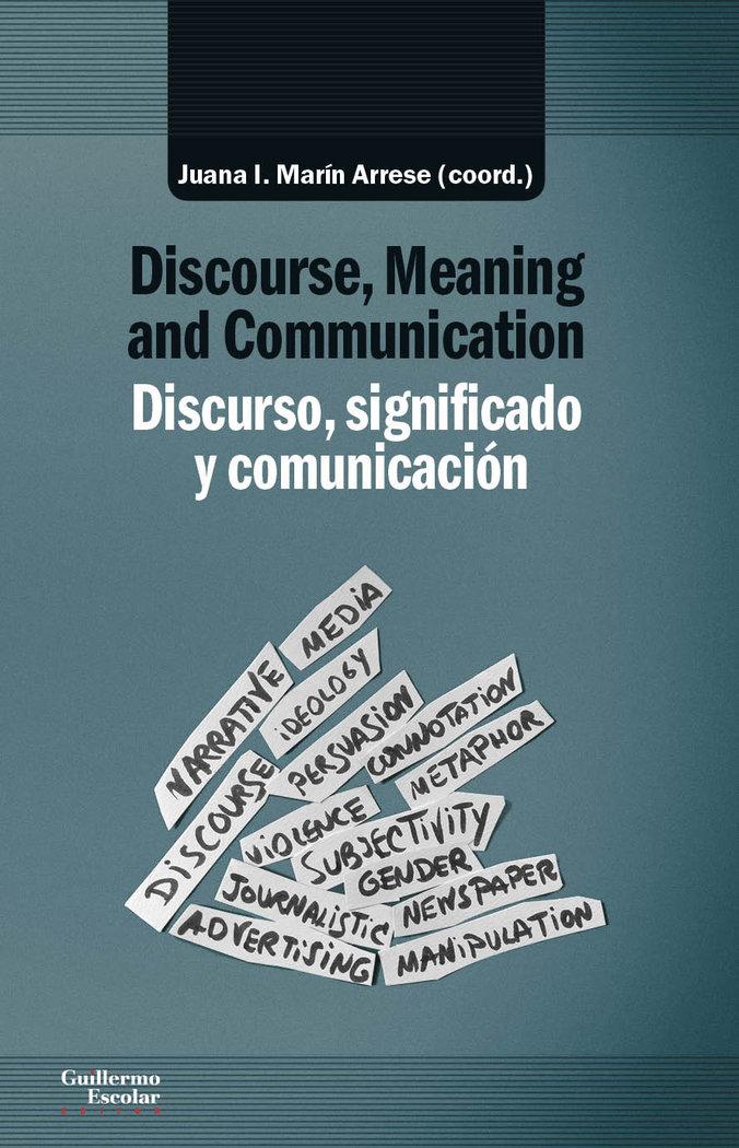 Discurso significado y comunicacion dis