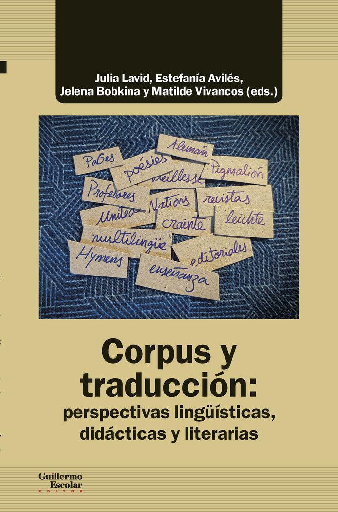 Corpus y traduccion perspectivas linguisti