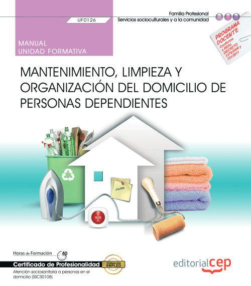 Manual mantenimiento limpieza y organizacion domicilio pers