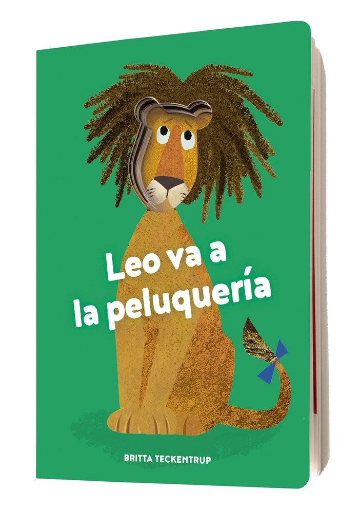 Leo va a la peluqueria