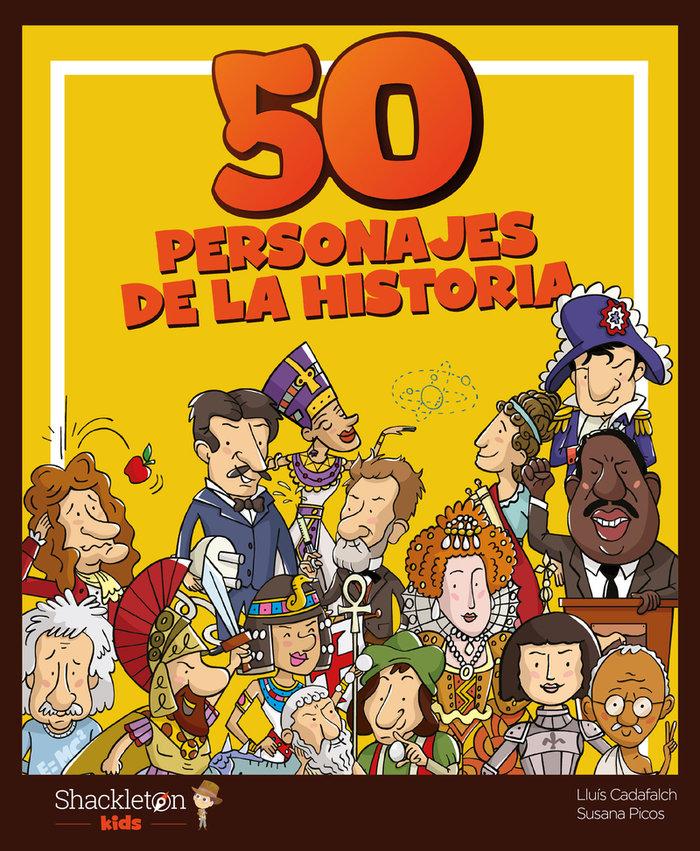 50 personajes de la historia