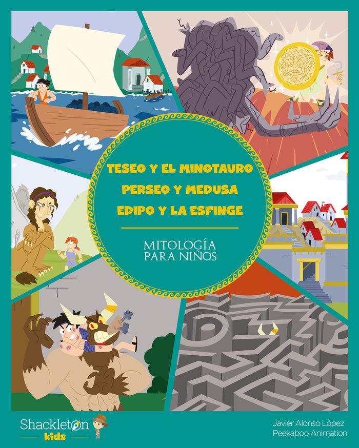 Teseo y el minotauro perseo y medusa edipo y la esfinge