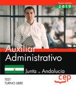 Auxiliar administrativo junta andalucia test