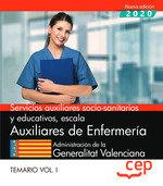 Servicio auxiliar socio sanitario enfermeria valencia vol 1