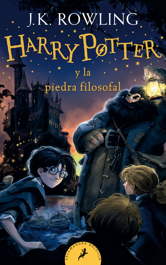 Harry potter 1 la piedra filosofal