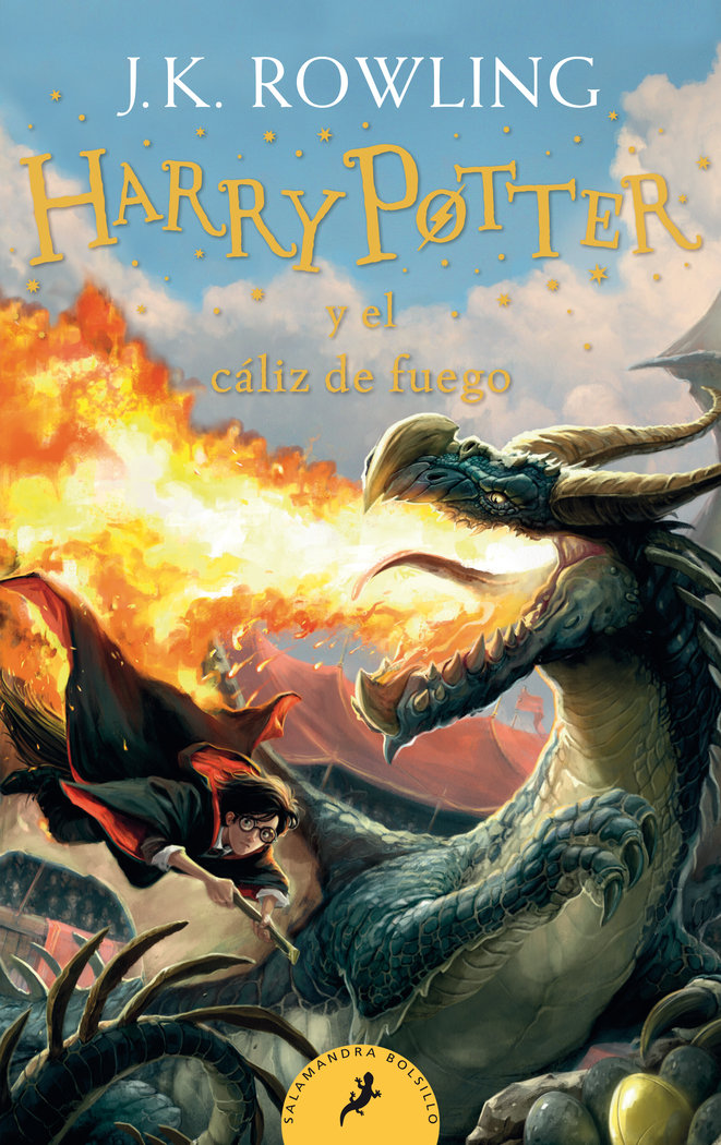 Harry potter 4 el caliz de fuego