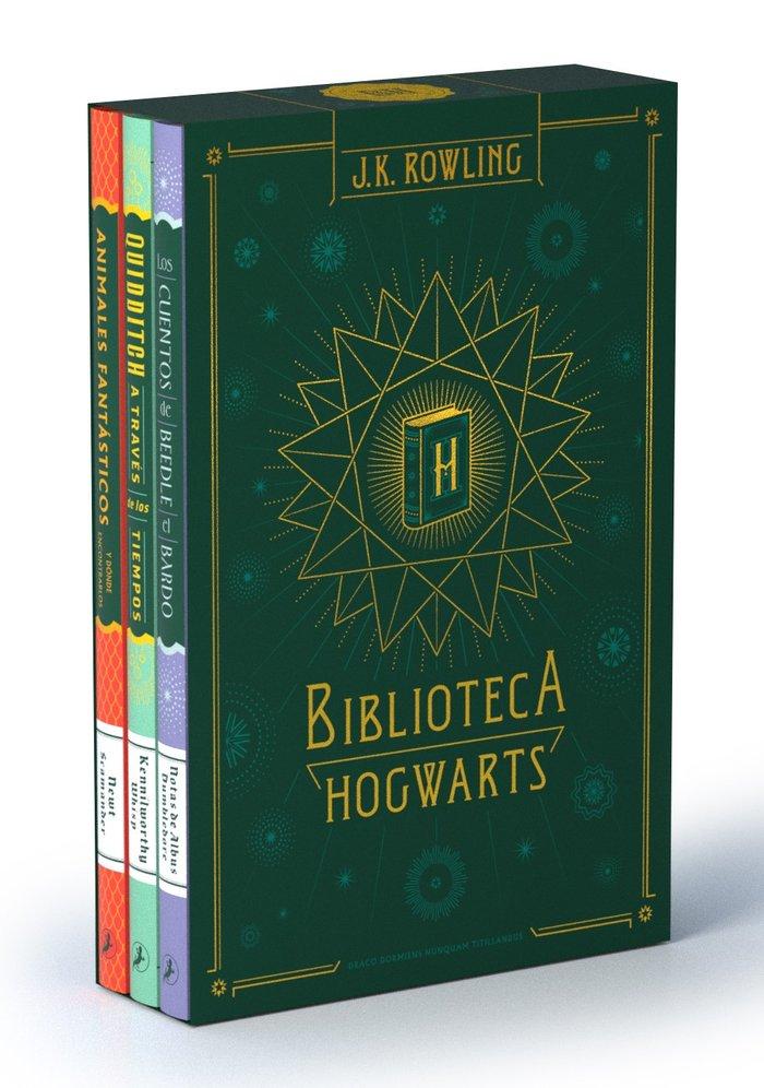 Biblioteca hogwarts edicion estuche