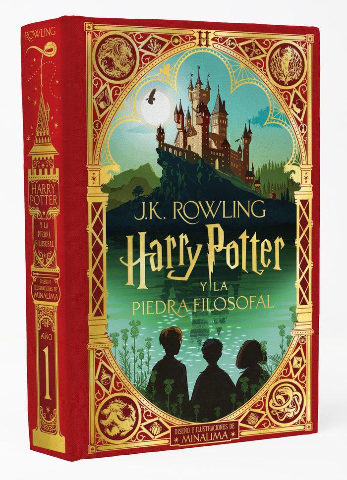 Harry potter 1 la piedra filosofal pop-up minalima