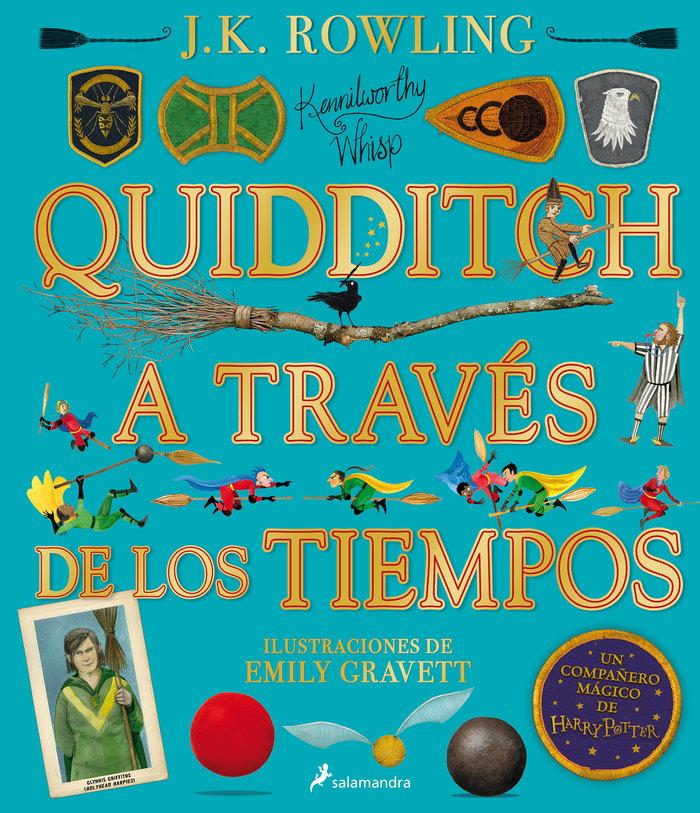 Quidditch a traves de los tiempos ilustrad
