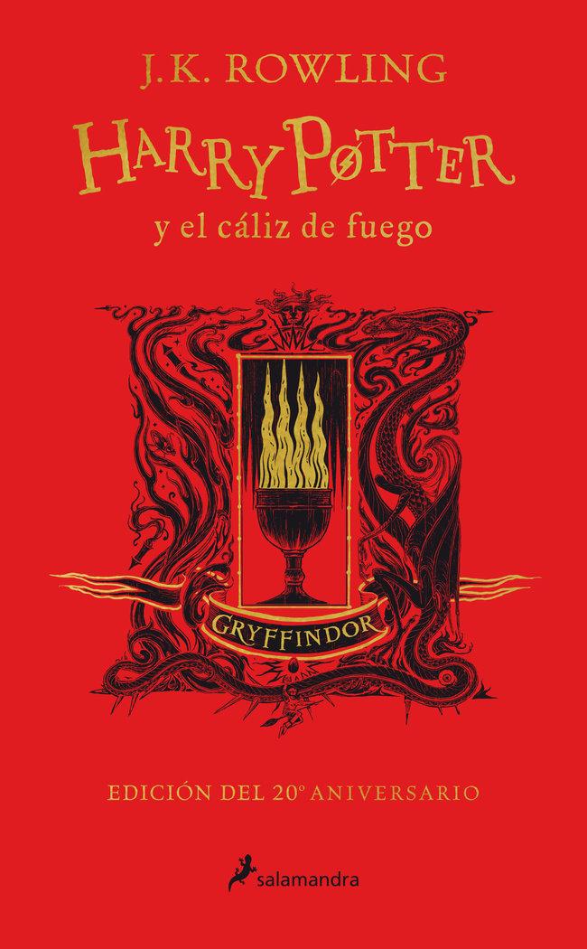 Harry potter y el caliz de fuego edic gryf