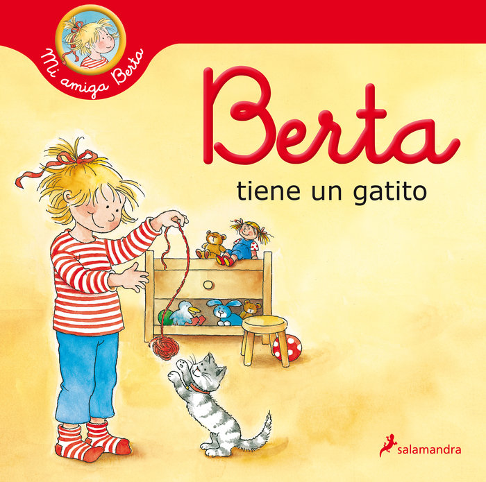 Berta tiene un gatito mi amiga berta