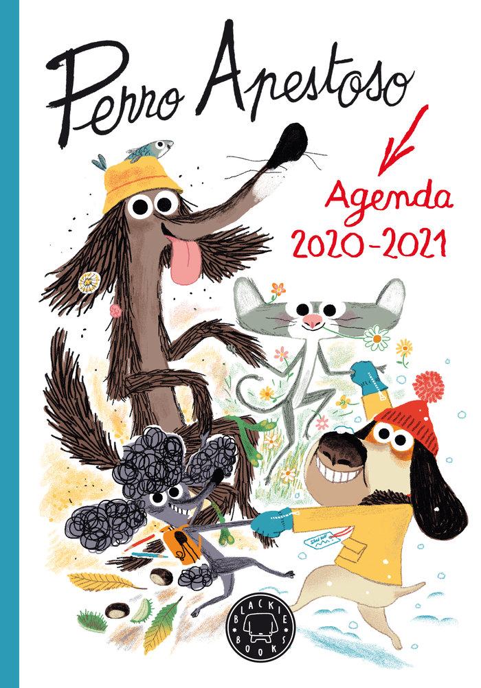 Agenda escolar perro apestoso 2020 2021