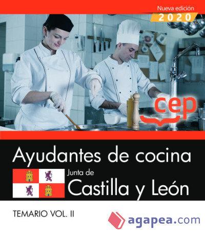 Ayudantes de cocina junta de castilla y leon temario vol 2