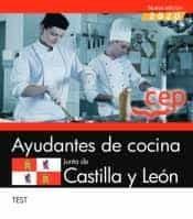Ayudantes de cocina junta de castilla y leon test
