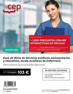 Pack oposiciones servicios auxiliares socio sanitarios