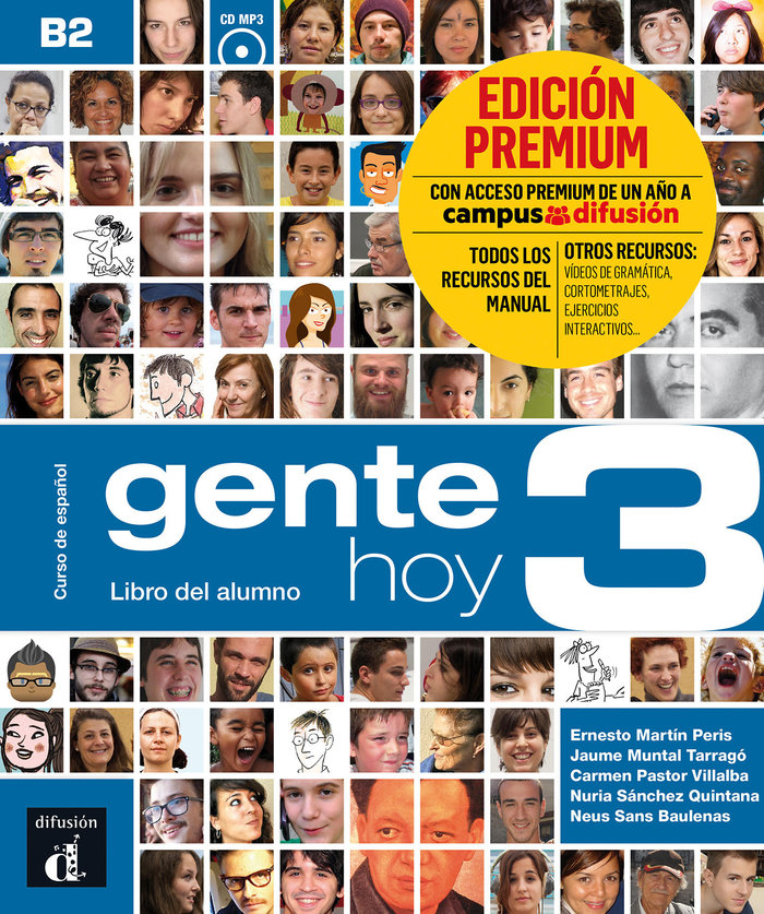 Gente hoy 3 libro alumno cd premium