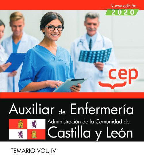 Auxiliar enfermeria administracion castilla leon vol 4