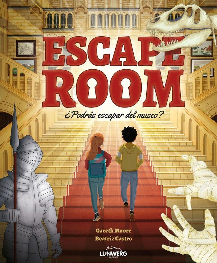 Escape room podras escapar del museo