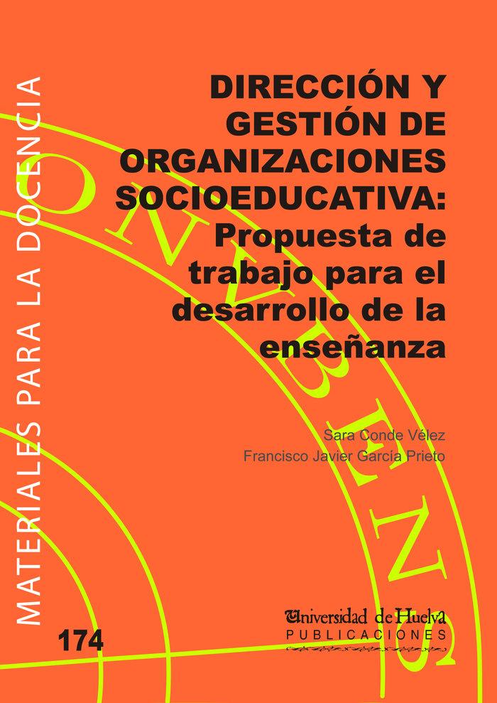 Direccion y gestion de organizaciones socioeducativas