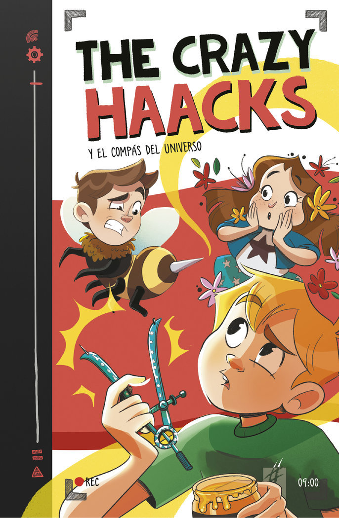 The crazy haacks y el compas del universo (serie the crazy h