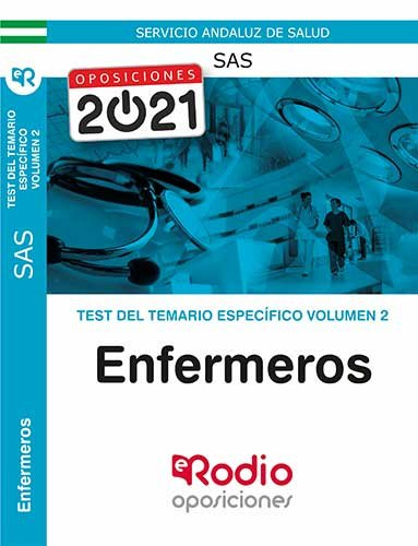Test del temario especifico volumen 2 enf
