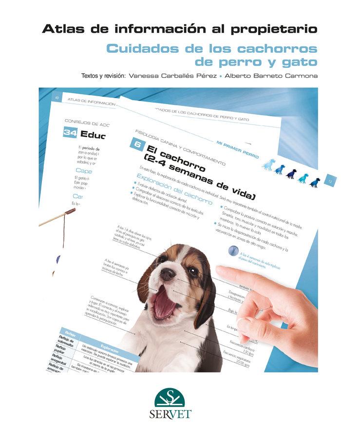 Atlas de informacion al propietario cuidados de cachorros