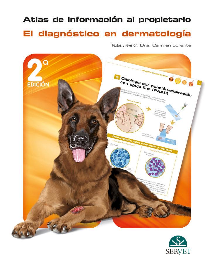 Atlas de informacion al propietario diagnostico dermatologi