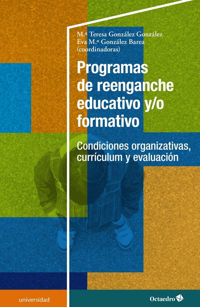 Programas de reenganche educativo y o form