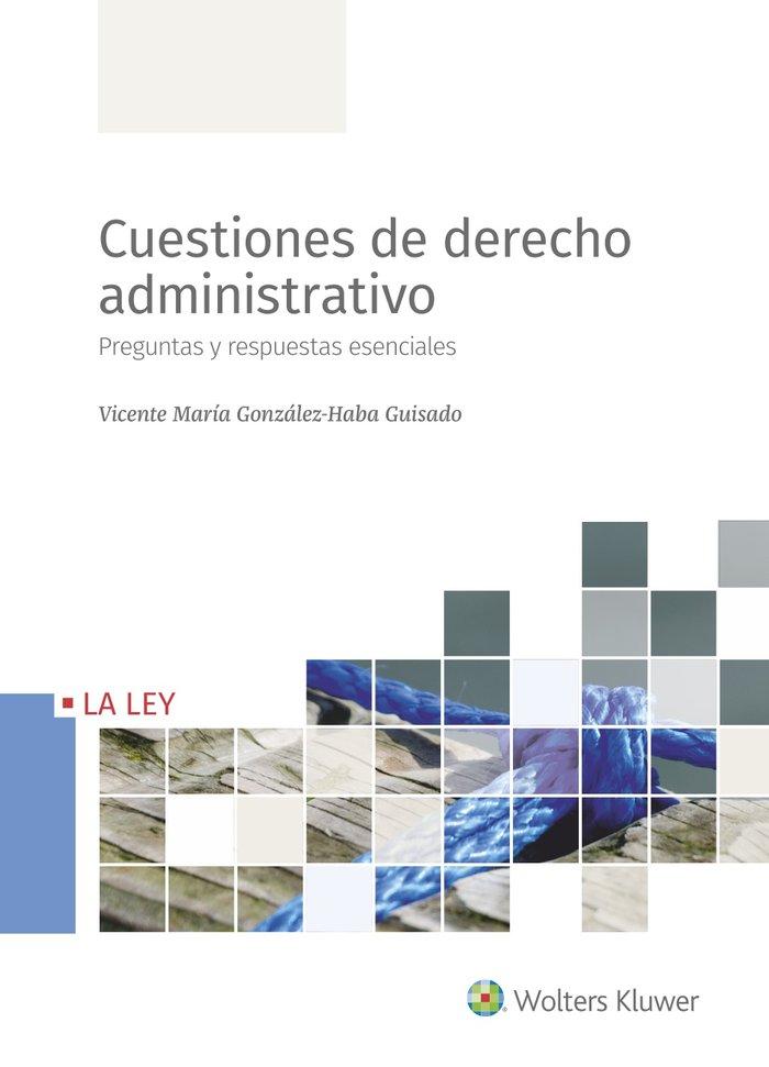 Cuestiones de derecho administrativo