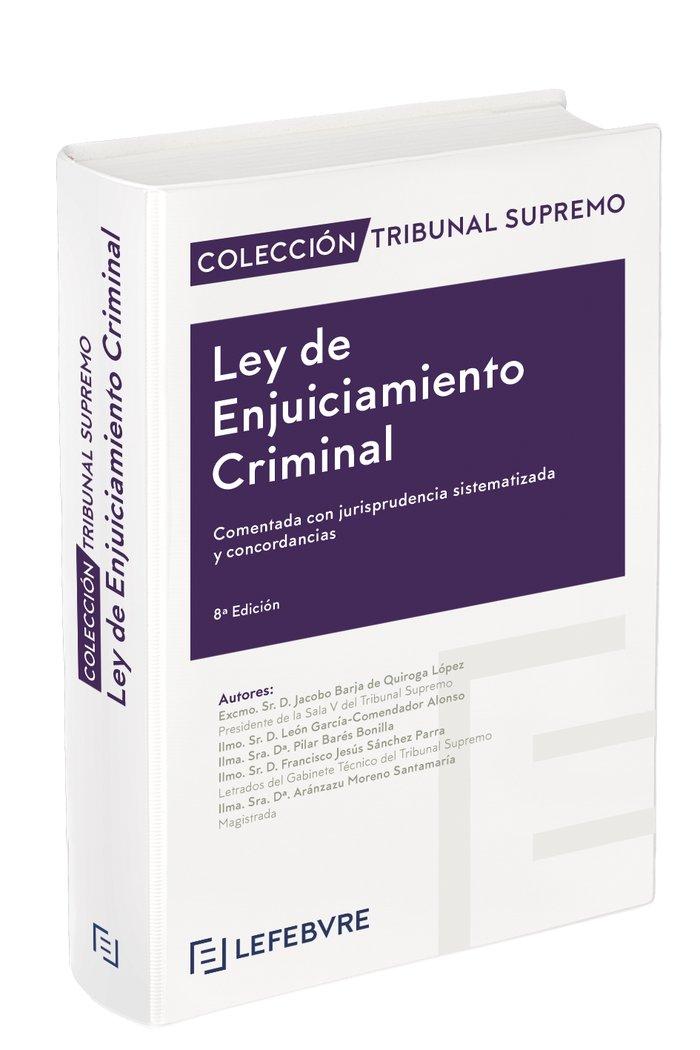 Ley de enjuiciamiento criminal 8ª edicion