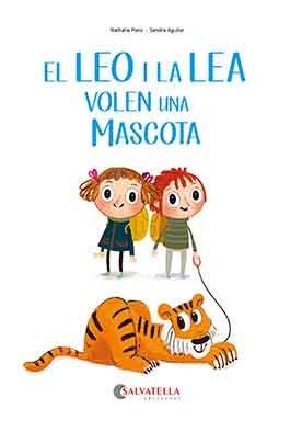 El leo i la lea volen una mascota catalan