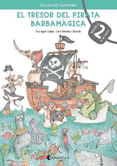 El tresor del pirata barbamagica 2