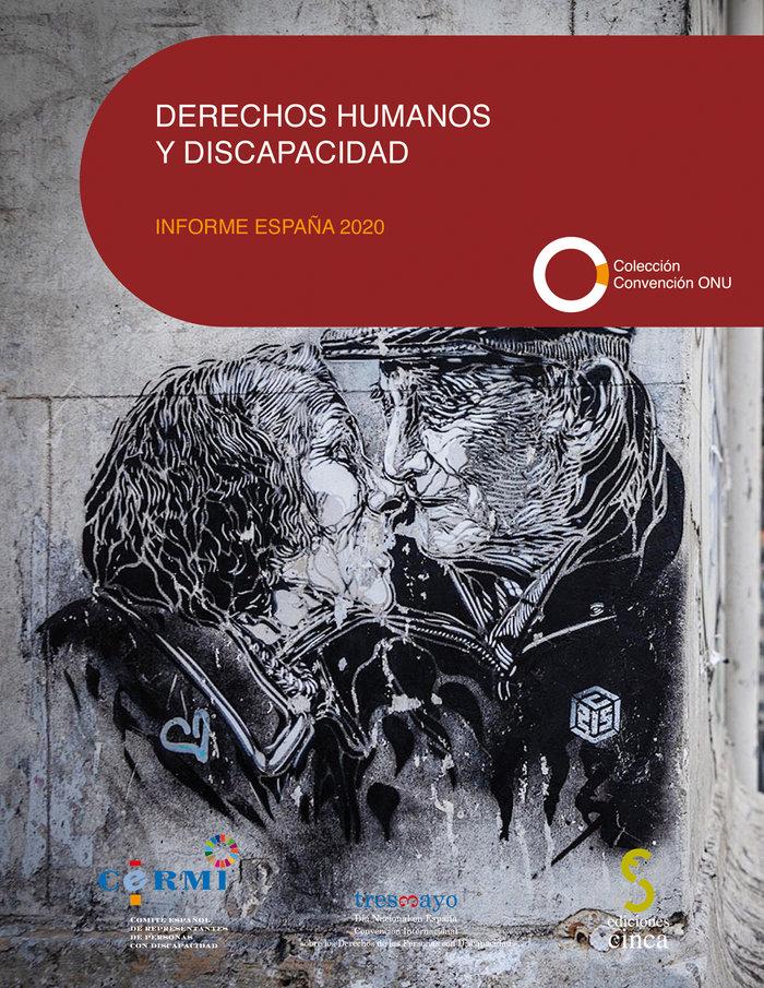 Derechos humanos y discapacidad informe españa 2020