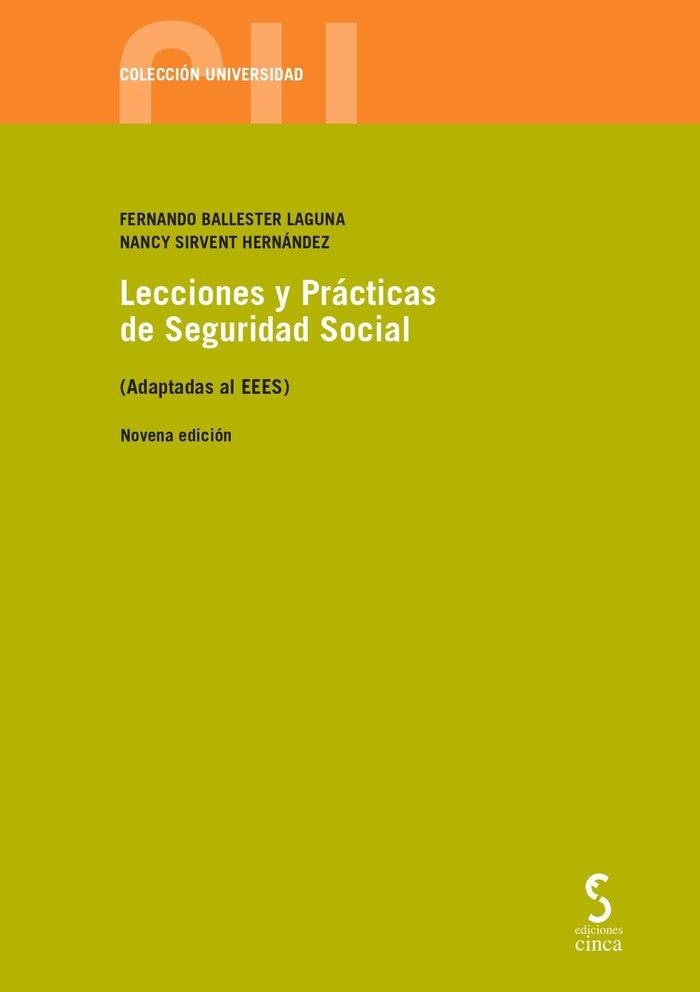 Lecciones y practicas de seguridad social 9ª ed