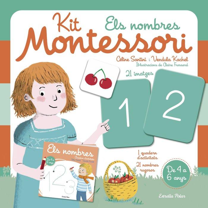 Kit montessori els nombres