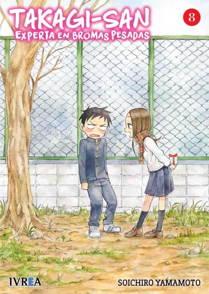 Takagi san experta en bromas pesadas 8