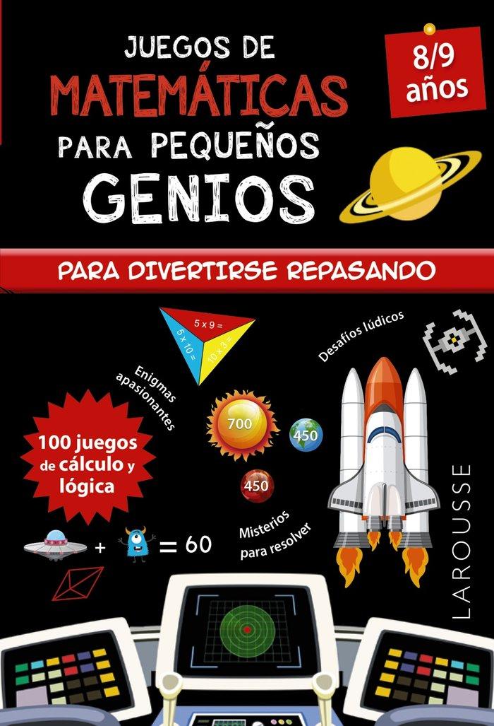 Juegos de matematicas para pequeños genios 8-9 años