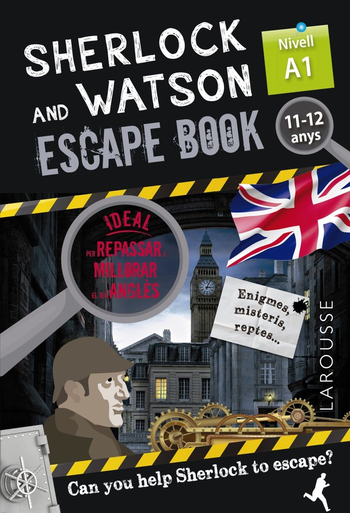 Sherlock & watson escape book per repa cat