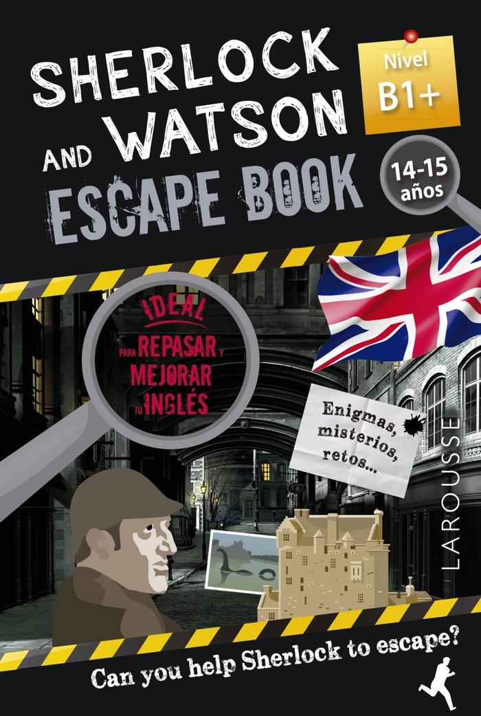 Sherlock & watson escape book para repasa